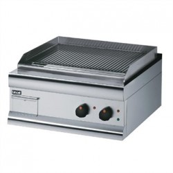 Lincat Silverlink 600 Ribbed Dual zone Electric Griddle GS6/TFR