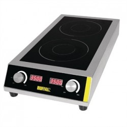 Buffalo Heavy Duty Electric Double Induction Hob
