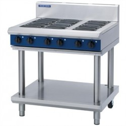 Blue Seal Evolution Cooktop 6 Element Electric on Stand 900mm E516D-LS
