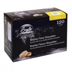 Bradley Alder Bisquettes 120 pack