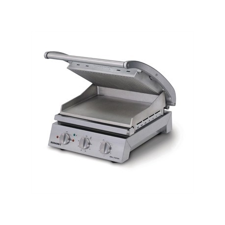 Roband Contact Grill 8 Slice Ribbed Top Plate 2990W GSA815R
