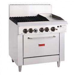 Thor 4 Burner LPG Oven Range and 305mm Grill