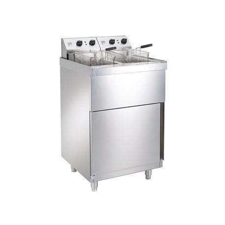 Parry Double Electric Pedestal Fryer NPDPF6