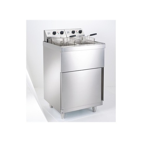 Parry Double Electric Pedestal fryer NPDPF9