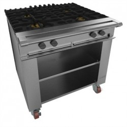 Falcon Chieftain 4 Burner Boiling Table on Castors LPG G1026X