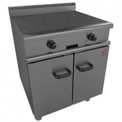 Falcon 350 Series Solid Top Gas Oven Range on Legs Natural Gas G350/2