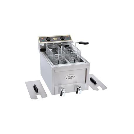 Roller Grill Double Tank Countertop Fryer RFE8D