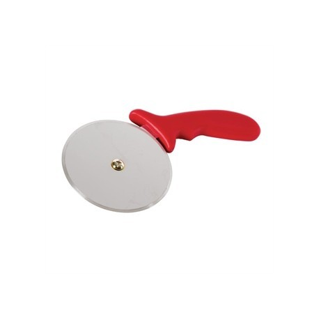 Vogue Pizza Wheel Red 4in