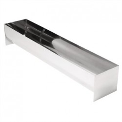 Vogue U Shaped Stainless Steel Terrine Mould 500mm