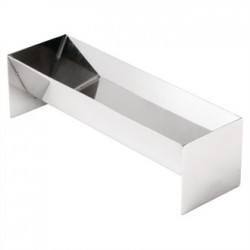 Vogue V Shaped Stainless Steel Terrine Mould 260mm