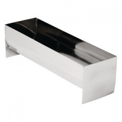 Vogue U Shaped Stainless Steel Terrine Mould 260mm