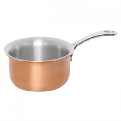 Vogue Mini Copper Tri Wall Saucepan 330ml