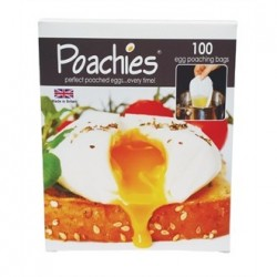 Poachies 100 Disposable Egg Poachers