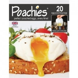 Poachies 20 Disposable Egg Poachers