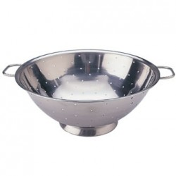 Vogue Stainless Steel Colander 12in
