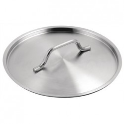 Vogue Stainless Steel Saucepan Lid 240mm