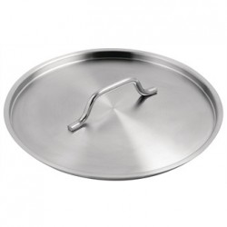 Vogue Stainless Steel Saucepan Lid 280mm