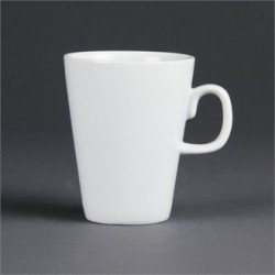 Olympia Whiteware Latte Mugs 285ml 10oz