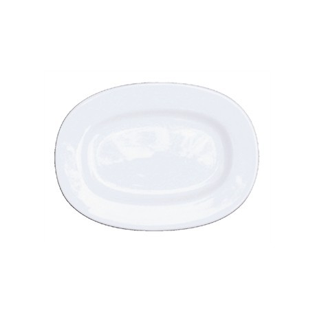 Churchill Alchemy Rimmed Oval Dishes 280mm