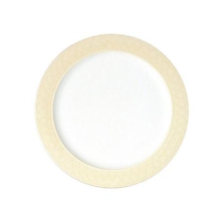 Churchill Alchemy Spin Cream Serving Plates 330mm