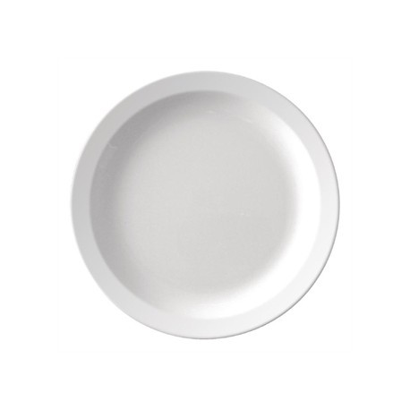 Kristallon Melamine Narrow Rimmed Plates 165mm