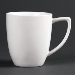 Lumina Fine China Latte Mugs 350ml 12oz