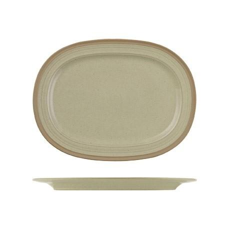 Churchill Igneous Stoneware Oval Plates 355mm