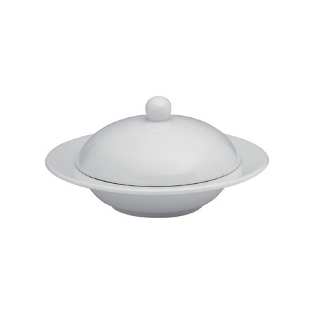 Elia Glacier Fine China Covered Butter Dishes 115mm