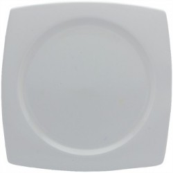 Elia Glacier Fine China Square Plates 260mm