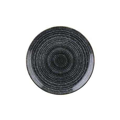 Churchill Studio Prints Charcoal Black Coupe Plate 217mm