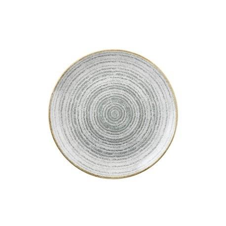 Churchill Studio Prints Stone Grey Coupe Plate 260mm