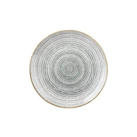 Churchill Studio Prints Stone Grey Coupe Plate 182mm