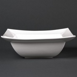Lumina Wide Rimmed Square Bowls 210mm