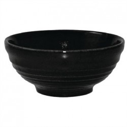 Churchill Bit on the Side Black Ripple Snack Bowls 120mm