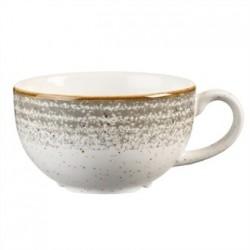 Churchill Studio Prints Stone Grey Cappuccino Cup 227ml 8oz
