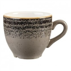 Churchill Studio Prints Charcoal Black Espresso Cup 100ml 3.5oz