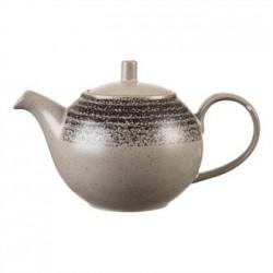 Churchill Studio Prints Charcoal Black Tea Pot 426ml 15oz