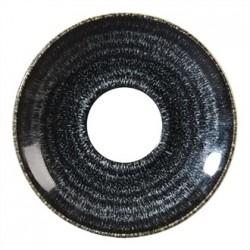Churchill Studio Prints Charcoal Black Espresso Saucer 118mm