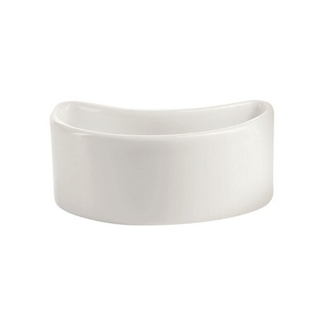 Chef and Sommelier Purity Sticky Bowls Half Moon Blanc 40ml