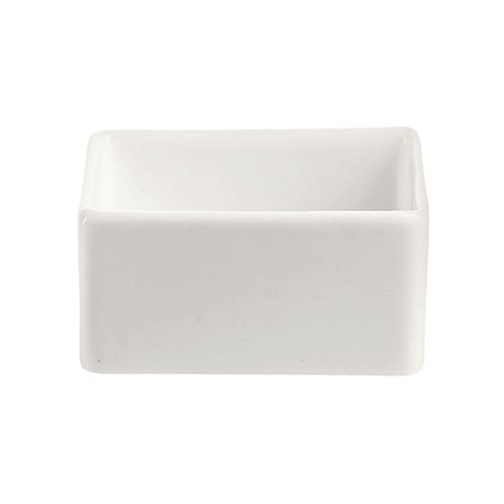 Chef and Sommelier Purity Sticky Bowls Square Blanc 60ml