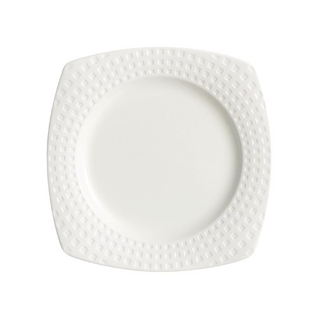 Chef and Sommelier Satinique Square Dinner Plates 255mm