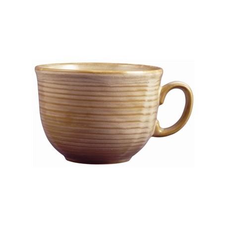 Dudson Evolution Sand Cafe Au Lait Cups 280ml