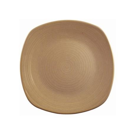 Dudson Evolution Sand Chefs Plates Square 165mm