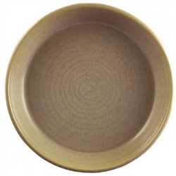 Dudson Evolution Sand Olive and Tapas Dishes 118mm