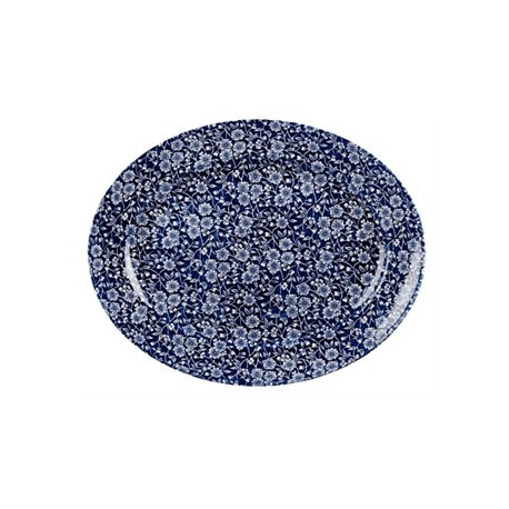 Churchill Vintage Prints Oval Dishes Willow Print 365mm