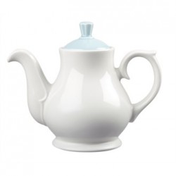 Churchill Vintage Cafe 462ml Teapots and Blue Lids