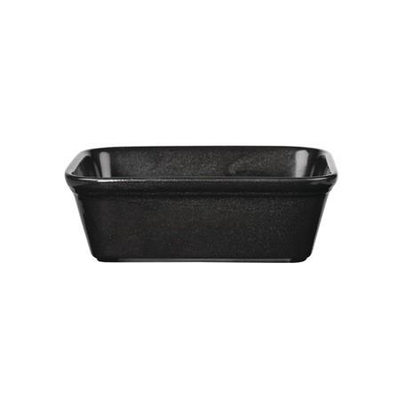 Churchill Cookware Black Rectangular Dishes 160x 120mm