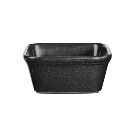Churchill Cookware Black Square Pie Dishes 120x 120mm
