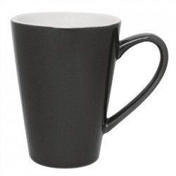 Olympia Cafe Latte Cups Charcoal 454ml 16oz
