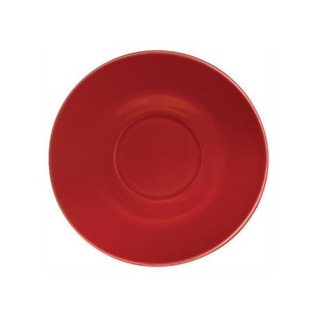 Olympia Cafe Saucers Red